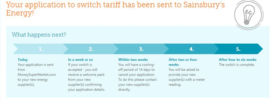 Energy Supplier Switch