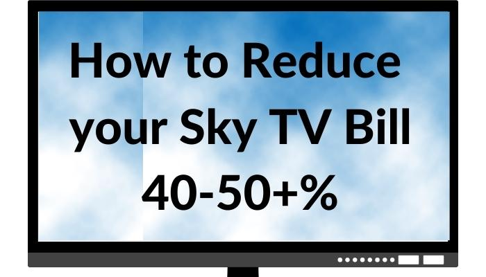 How to Reduce Sky Bill