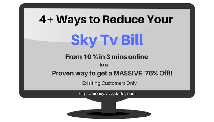 Sky Tv Offers >> How To Reduce Sky Tv Bill For Existing Customers 10 75