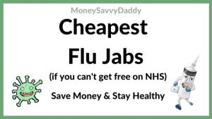 Flu jab costs Tesco, Boots, lloyds pharmacy & Superdrug