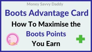 Boots Advantage Card Points