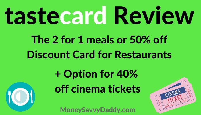 tastecard review and offers