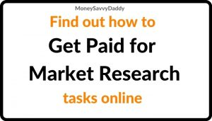 Get paid for Market Research