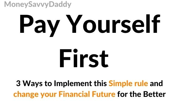 Pay Yourself First UK Header