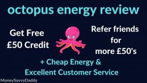 octopus energy review & referral
