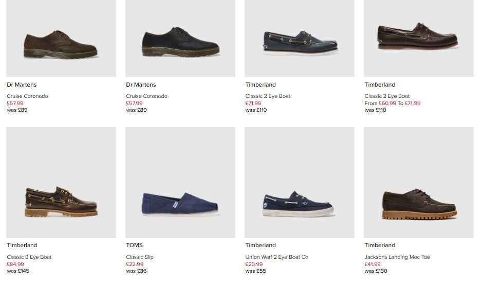 Schuh Imperfects Mens examples
