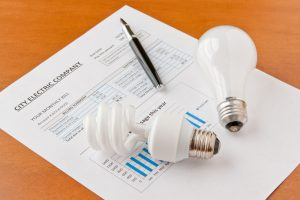 What does in debit mean on your energy bill