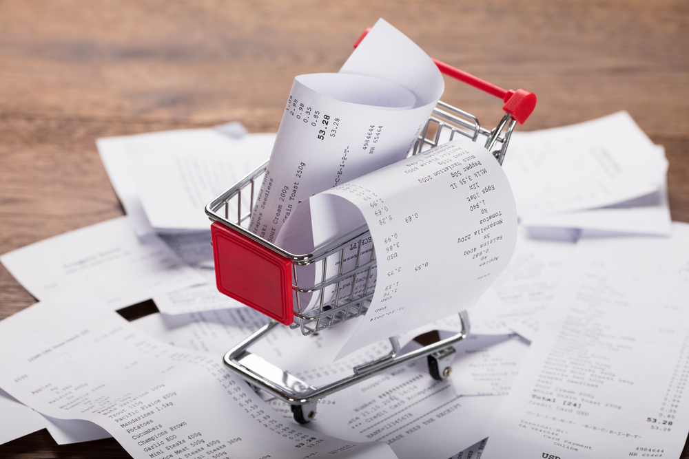 Scan Shopping Receipts for money