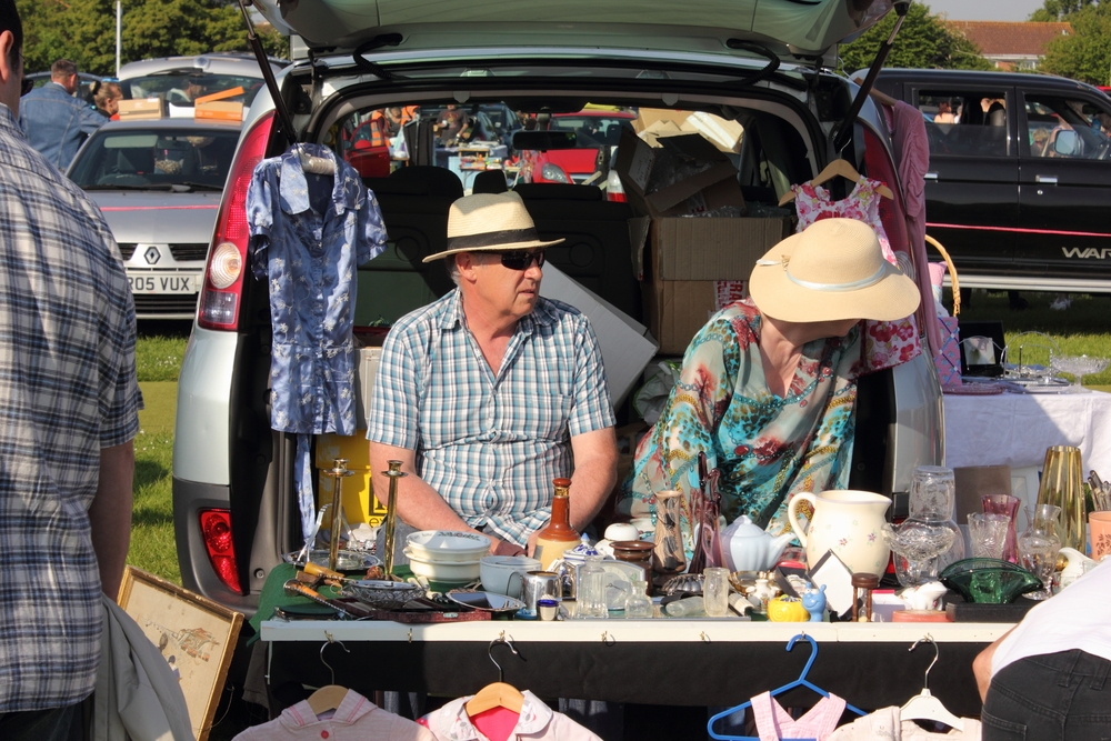 Best things to sell at car boot sales